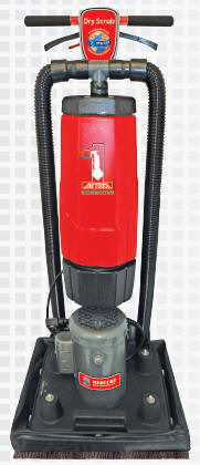 ONE TOUCH DRY SCRUB MACHINE - Orbital Floor Machine